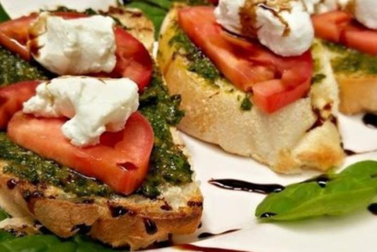 Draganetti's Ristorante food