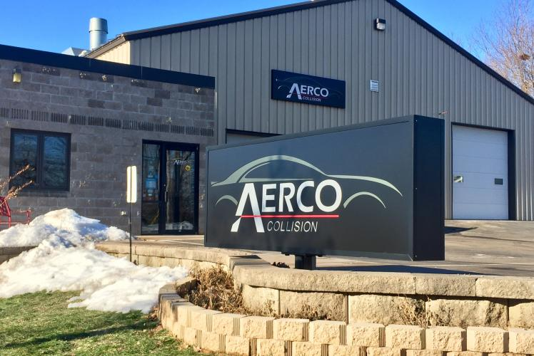 Aerco Collision Shop Building Eau Claire