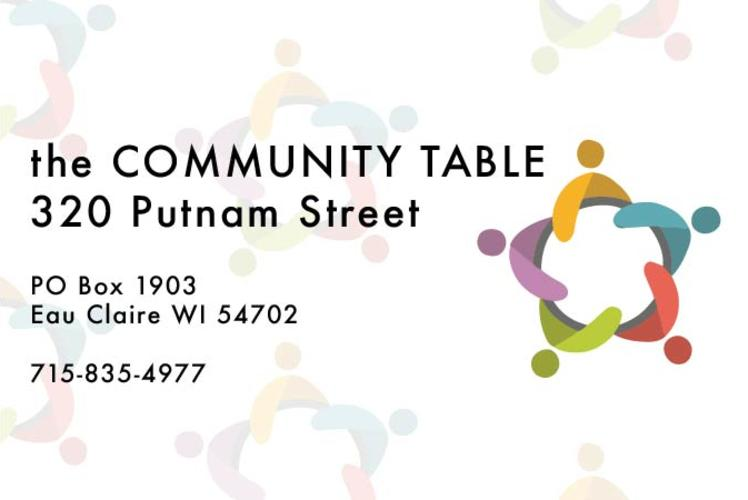 Community table graphic