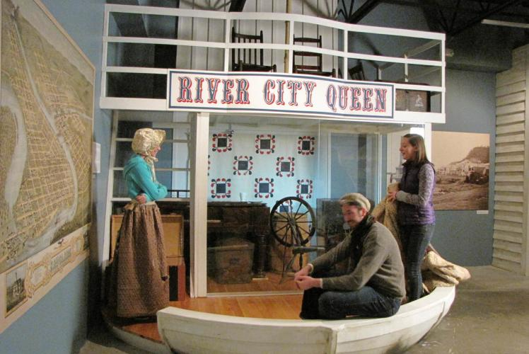 Chippewa Valley Museum in Eau Claire, Wisconsin