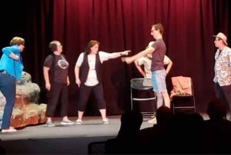 CVTG's Comedy Improv at The Grand