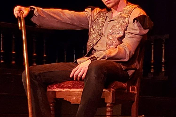 CVTG's Jack Goings plays Richard III