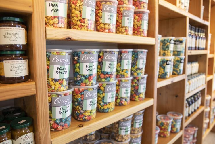 Popcorn Shelves
