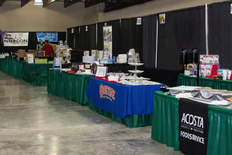Chippewa Valley Expo Center - Expo Booths