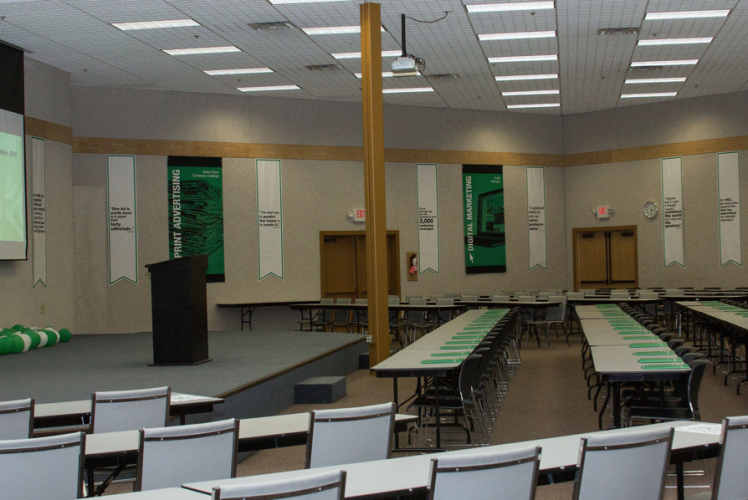 Chippewa Valley Expo Center Classroom Meeting Space