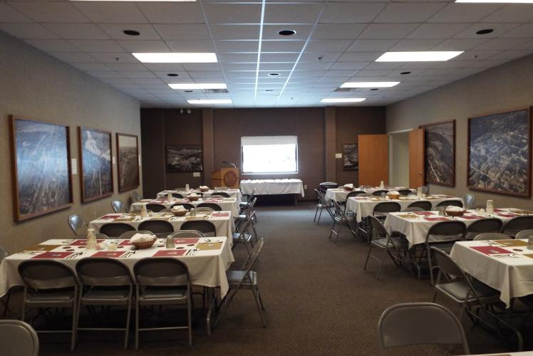 Banquet Style Meeting space