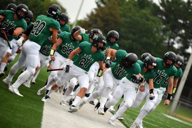 Regis Catholic School Eau Claire, Wisconsin Football
