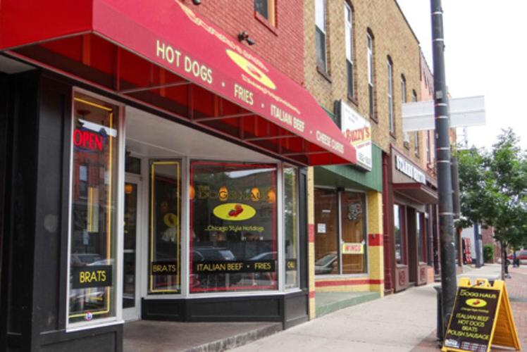 Dogg Haus in Eau claire, Wisconsin on Water Street