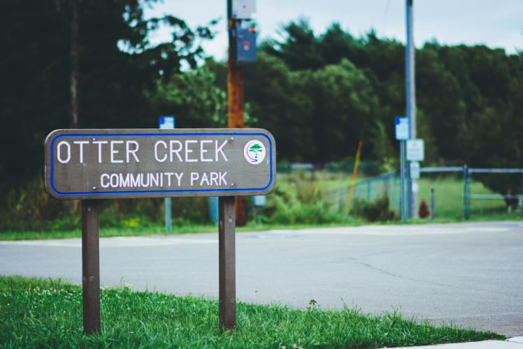 Otter Creek Dog Park in Eau Claire, Wi