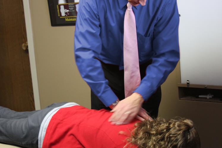 Dr. Kyle Adjusting