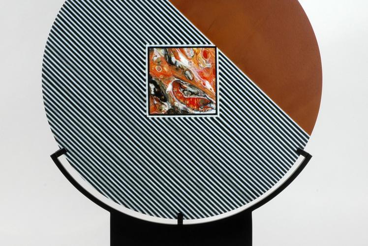 B~Framed Galleries - Fossil Piece