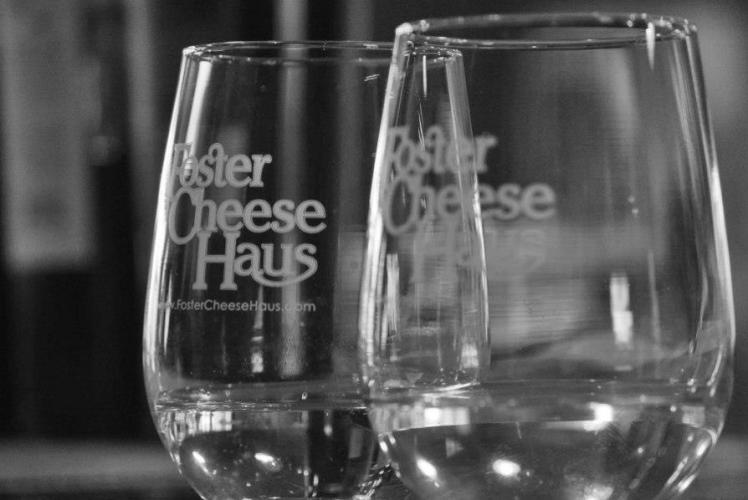 Foster Cheese Haus Glasses