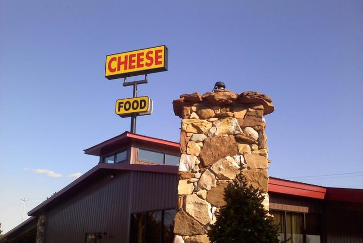 Foster Cheese Haus Outside