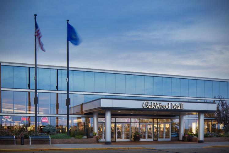 Oakwood Mall Front Exterior