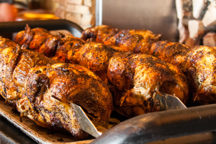 Grizzly's Wood Fired Grill & Bar - Famous Wood Roasted Chicken