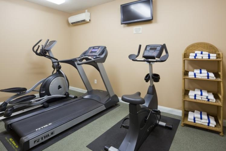 GrandStay Fitness Room in Eau Claire, Wisconsin