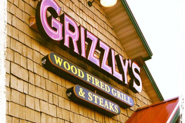 Grizzly's Wood Fired Grill & Bar - Outside Restaurant View
