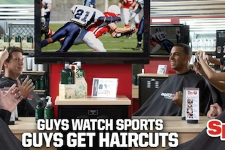 Sport Clips Ad