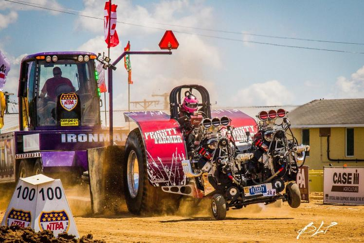 Brittany Lucille Photography - Tractor Pull 2