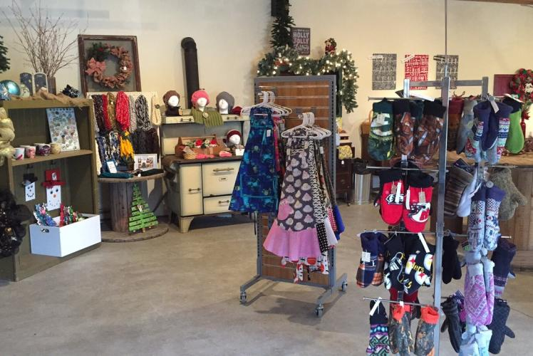 Curvue Hideaway & Trees Tree Farm Gift Shop in Eau Claire, Wisconsin