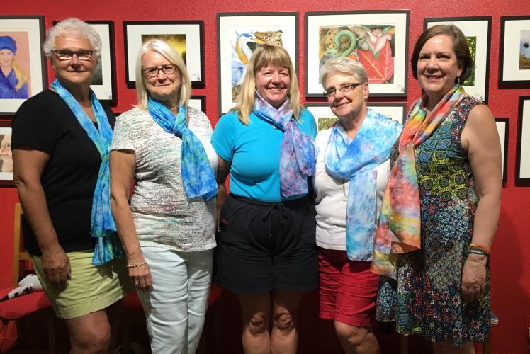 Silk Painting Class