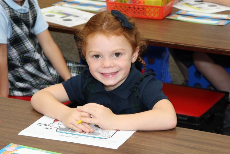 Regis Catholic School Eau Claire, Wisconsin Child
