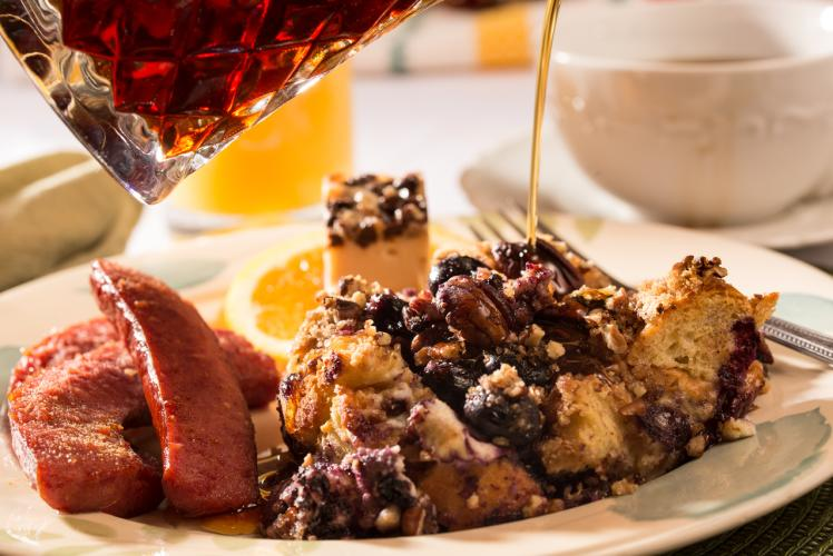 Inn on Lake Wissota - Blueberry French Toast Breakfast