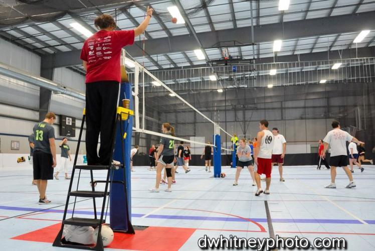Indoor Sports Volleyball