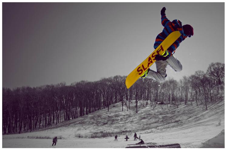 Jacob Taylor Photography - Snowboard Jump