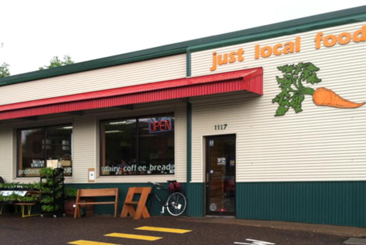 Just Local Food Co-op Outdoor in Eau Claire, Wi