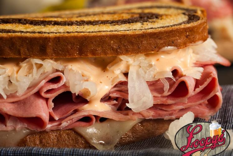 Loopy's Rueben Sandwich