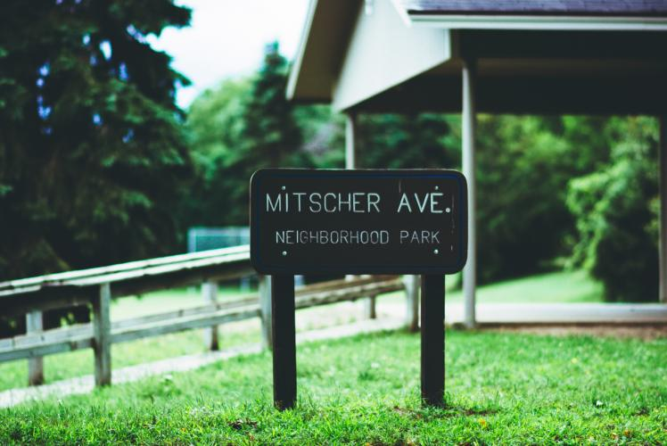 Mitscher Park in Eau Claire, Wisconsin