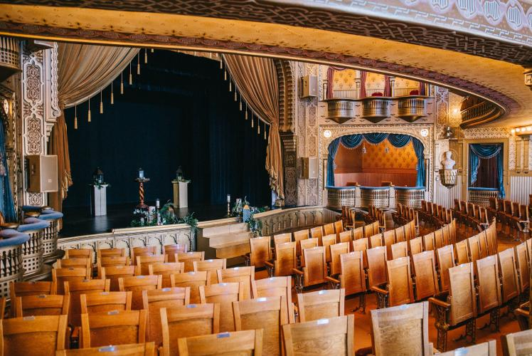 Mabel Tainter Menomonie, Wisconsin Wedding Theatre