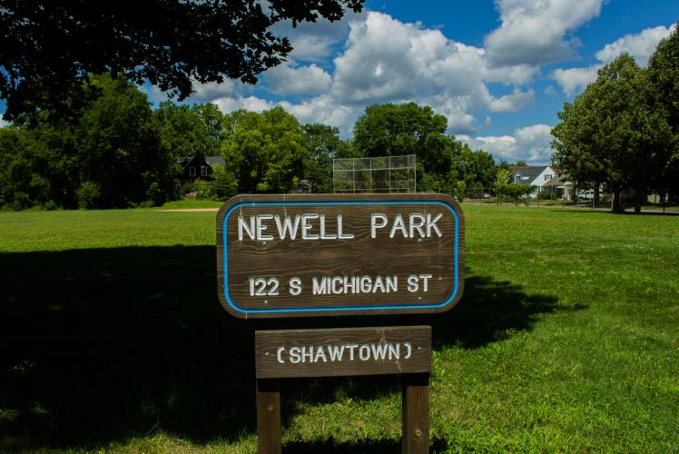 Newell Neighborhood Park in Eau Claire, Wisconsin