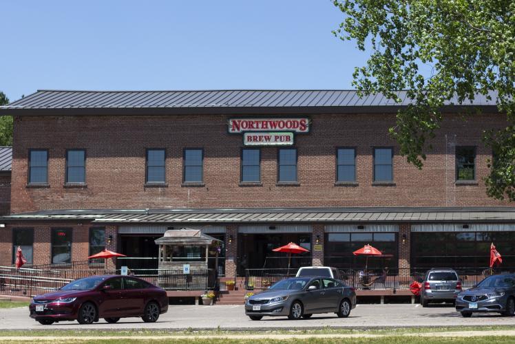 Northwoods Brew Pub exterior