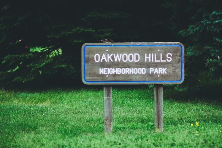 Oakwood Hills Park in Eau Claire, Wisconsin