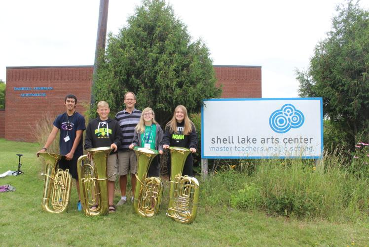 Shell Lake Arts Center - Band Camp