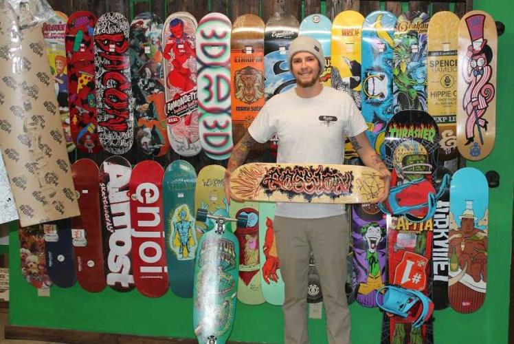 Passion Board Shop Owner Chris Johnson