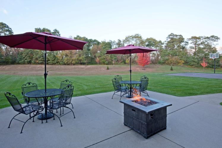 Patio at the GrandStay Residential Suites