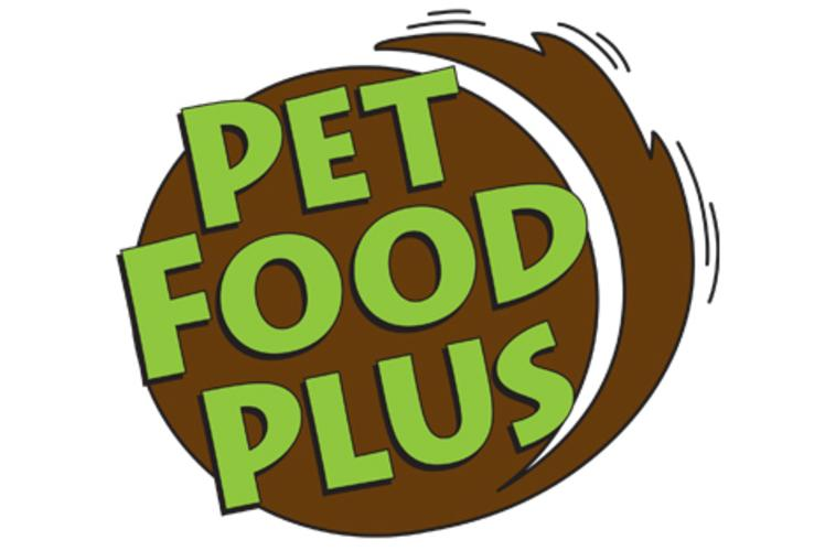 Pet Food Plus Logo in Eau Claire, WI