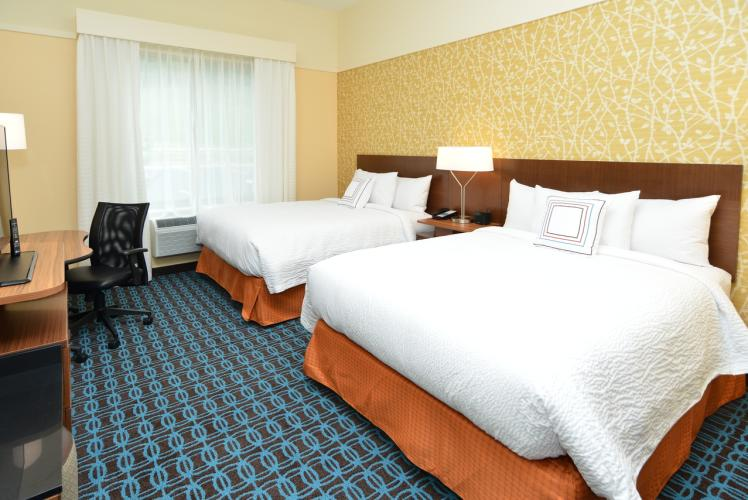 Fairfield Inn & Suites by Marriott Double Queen Room