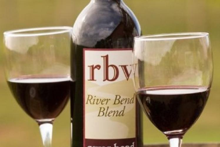 River Bend Vinyard & Winery Bottle of Wine