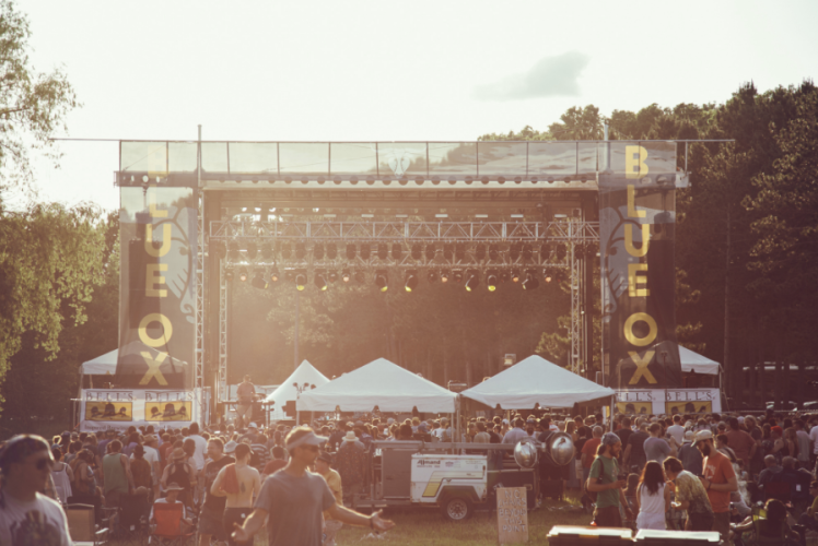 Blue Ox Music Festival Stage