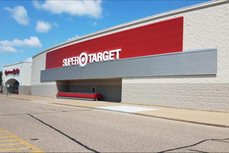 Exterior of Super Target