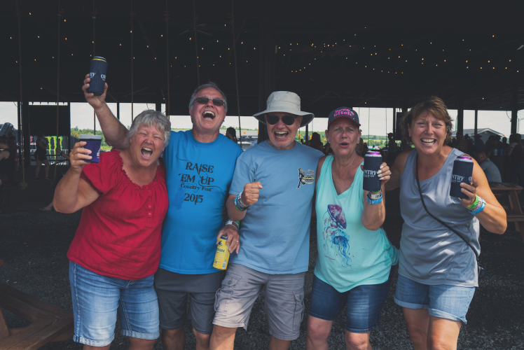 Country Fest crew