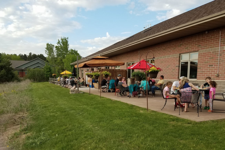K Point Brewing Outdoor Seating
