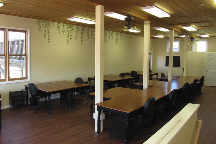 Willow Retreat Center Craft Room