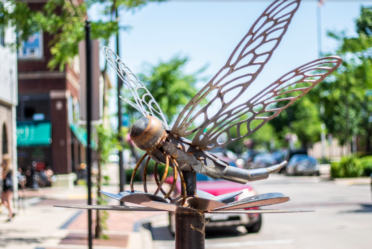 Butterfly Sculpture - Sculpture Tour 2020-2021