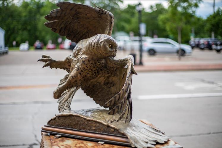 Owl - Sculpture Tour 2020-2021