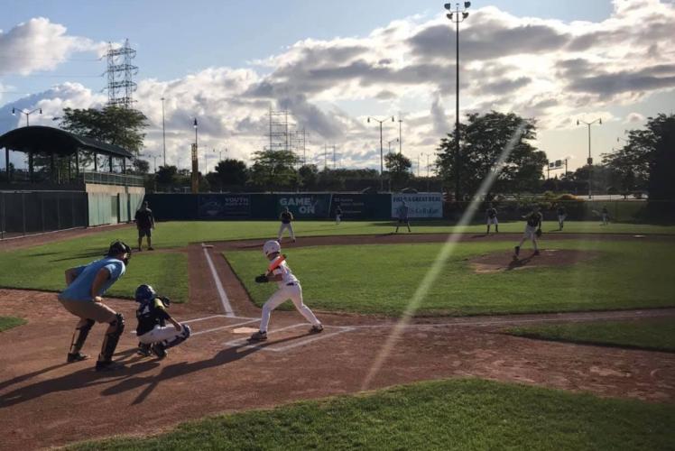 Baseball Game at Seymour Ball Club